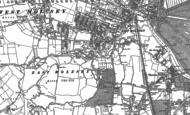Old Map of East Molesey, 1894 - 1913
