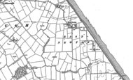 Old Map of East Newton, 1908