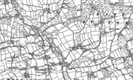 Old Map of East Putford, 1884