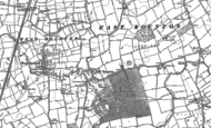 Old Map of East Rounton, 1892 - 1893