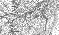 Old Map of East Scrafton, 1891 - 1910