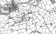 Old Map of East Thirston, 1896