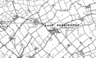 Old Map of East Torrington, 1886