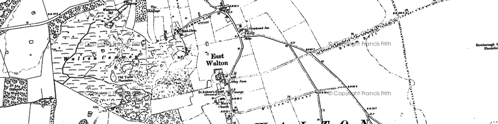 Old map of Wizard Lodge in 1884