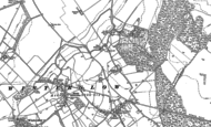 Old Map of East Winterslow, 1908