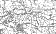 Old Map of East Woodburn, 1896