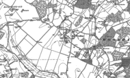 Old Map of East Woodhay, 1909 - 1938