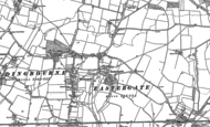Old Map of Eastergate, 1896