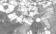 Old Map of Easthampstead, 1898 - 1910