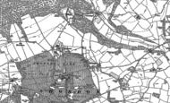 Old Map of Easthampton, 1885