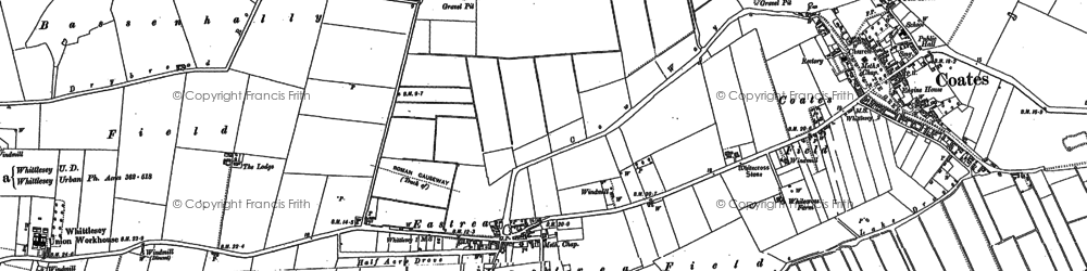 Old map of Wype Doles in 1886