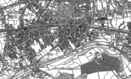Old Map of Eccles, 1889 - 1894