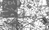 Old Map of Eccleston Park, 1891