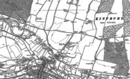 Old Map of Eddington, 1898 - 1909