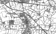 Old Map of Edenbridge, 1907