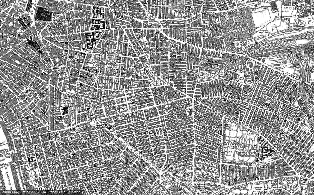 Old Maps of Edge Hill Francis Frith