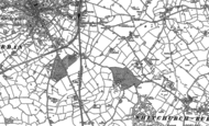 Old Map of Edgeley, 1879 - 1899