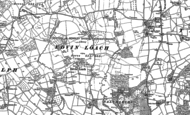 Old Map of Edvin Loach, 1885 - 1902