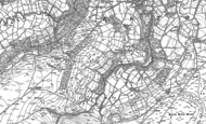 Old Map of Egton Grange, 1892
