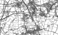 Old Map of Eldon Lane, 1896