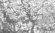 Old Map of Eldwick, 1848 - 1906