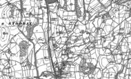 Old Map of Ellel, 1910