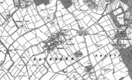 Old Map of Ellerker, 1888