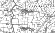 Old Map of Ellerton, 1889
