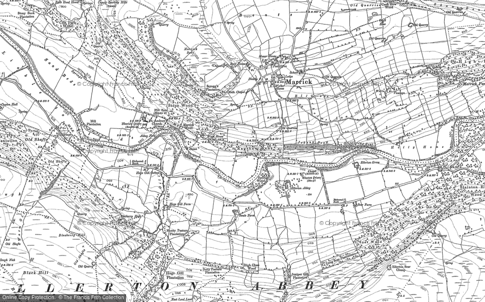 Old Maps Of East End Vein Francis Frith