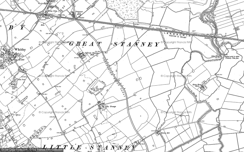 Old Maps of Ellesmere Port Francis Frith