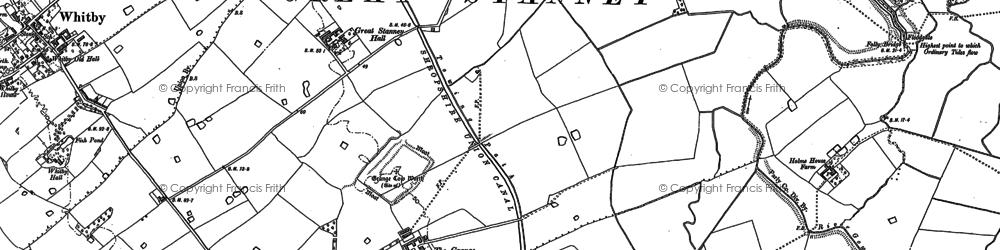 Old map of Ellesmere Port in 1897