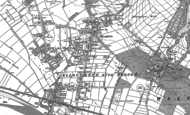 Old Map of Elloughton, 1888 - 1908