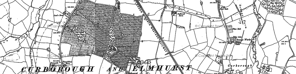 Old map of Lea Grange in 1882