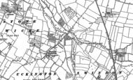 Old Map of Elmstone Hardwicke, 1883