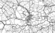 Old Map of Elsdon, 1896