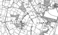 Old Map of Elsfield, 1898