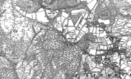 Old Map of Emery Down, 1895 - 1896