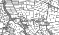 Old Map of Emneth, 1886 - 1900