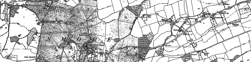 Old map of Andersfield in 1886