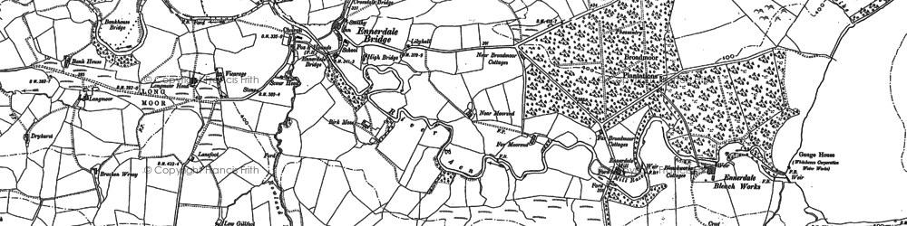 Old map of Whoap in 1898