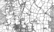 Old Map of Enton Green, 1870 - 1896