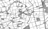 Old Map of Eshott, 1896