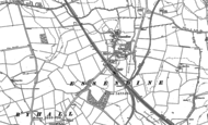 Old Map of Essendine, 1886 - 1903