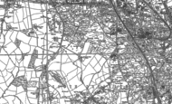 Old Map of Ettingshall Park, 1884 - 1885
