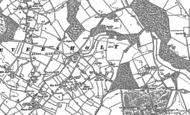 Old Map of Eversholt, 1881 - 1900
