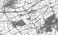 Old Map of Everthorpe, 1888