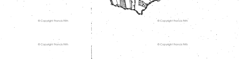 Old map of Ashen Coppice in 1885