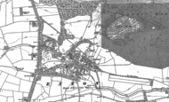 Old Map of Exton, 1884 - 1902