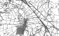 Old Map of Eydon, 1883 - 1899