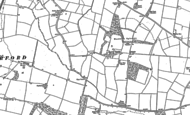 Old Map of Eynesbury Hardwick, 1900